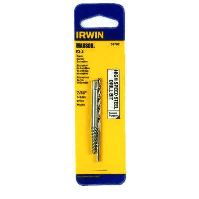 Irwin Hanson Drill Bit Extractor Set 2 pc.