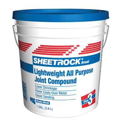 Sheetrock All Purpose Lightweight Joint Compound 1 gal. Sand 24 hr.