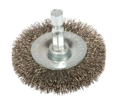 Forney 2-1/2 in. Dia. Fine Crimped Wire Wheel Brush 6000 rpm
