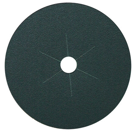 Gator 7 in. Dia. Floor Edger Disc 36 Grit Coarse Bolt-On 1 pk