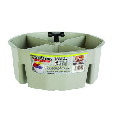 CLC Bucket Tray 10.5 in. L Plastic