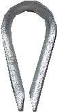 Campbell Chain Wire Rope Thimble Galvanized Steel
