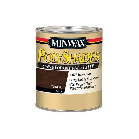 Minwax PolyShades Semi-Transparent Satin Tudor Oil-Based Stain 1 qt.
