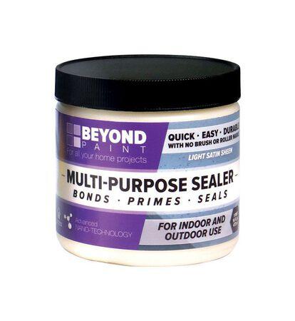 BEYOND PAINT All-In-One Interior/Exterior Acrylic Multi-Purpose Sealer Translucent Satin 1 pt