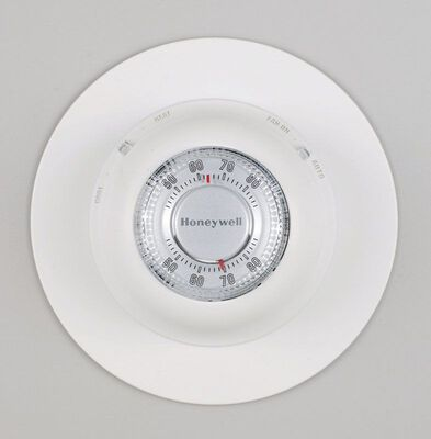Honeywell 7 in. H Manual Thermostat