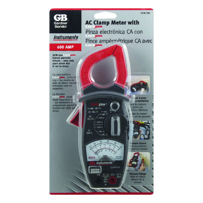 GB Analog Clamp-On Meter Black/Red