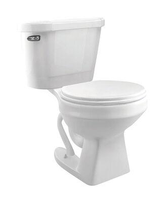 Cato Jazmin Round Complete Toilet 1.3 gal. White