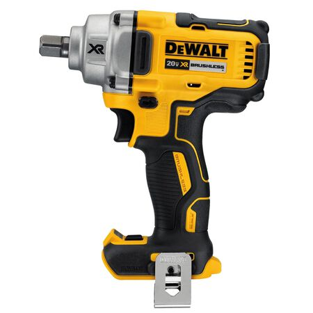 DeWalt XR 1/2 in. drive Square Cordless Brushless Impact Wrench 20 volt 3100 ipm 330 ft./lbs.