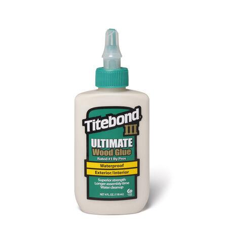 Titebond III Ultimate Tan Wood Glue 4 oz.