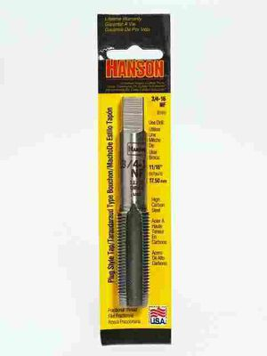 Irwin Hanson High Carbon Steel 3/4 in.-16NF SAE Fraction Tap 1 pc.