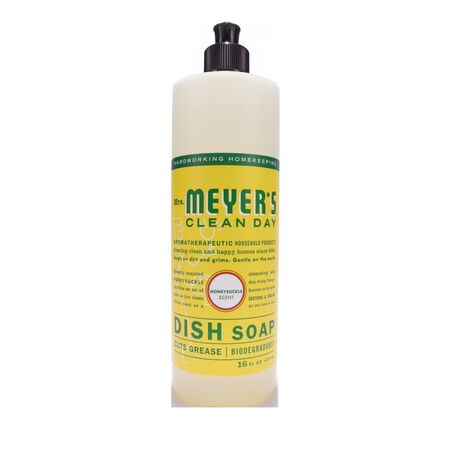 Mrs. Meyer's 16 oz. Honeysuckle Scent Liquid Dish Soap