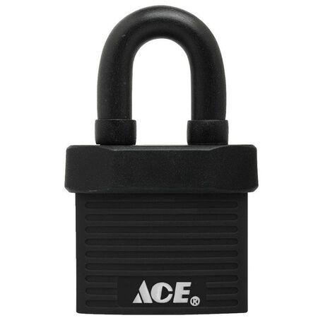 Ace 1-3/8 in. Double Locking Steel Padlock