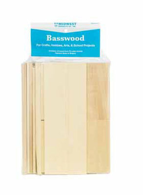 Midwest Products Basswood Lumber