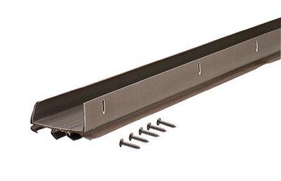 M-D Building Products U-shaped Vinyl Door Bottom 36 in. L x 1-3/4 in. Brown