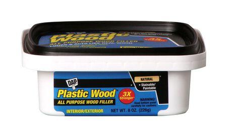 DAP Plastic Wood Natural Carpenter's Wood Filler 8 oz.