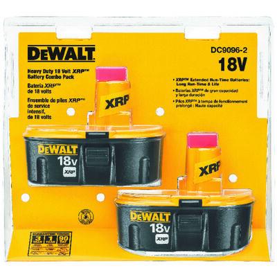 18V XRP(TM) Battery Combo Pack