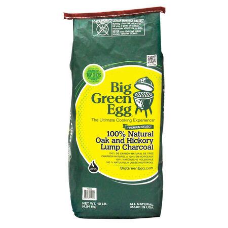 Big Green Egg All Natural Oak Hardwood Lump Charcoal 10 lb.