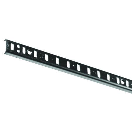 Knape & Vogt Steel Zinc Shelf Pilaster 72 in. L x 0.6 in. W