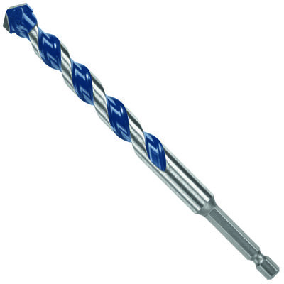 Bosch BlueGranite Steel PowerGrip Shank 1/2 in. Dia. x 6 in. L Masonry Bit 5 pc.