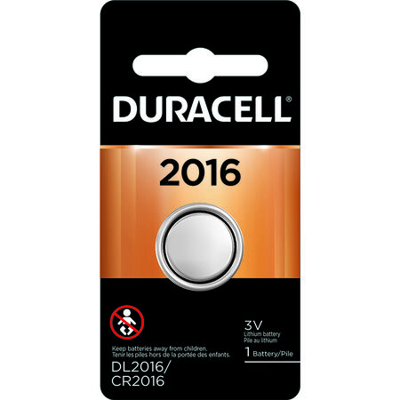 Duracell 2016 Lithium Security Battery 3 volts 1 pk