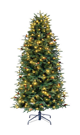 Celebrations 9 ft. Color Changing Prelit Lexington Artificial Tree 600 lights