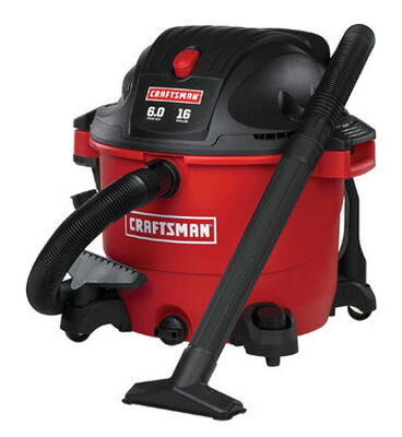 Craftsman 16 gal. Corded 6 hp 110/120 volts Wet/Dry Vacuum