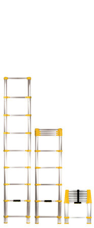 Xtend & Climb Aluminum 8.5 ft. H Extension Ladder 225 lb. Type II
