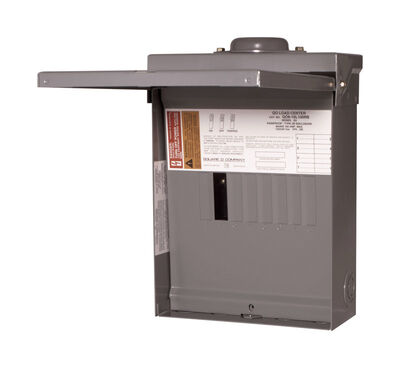 Square D QO 100 amps 8 space 16 circuits 120/240 volts Plug-In Main Lug Load Center