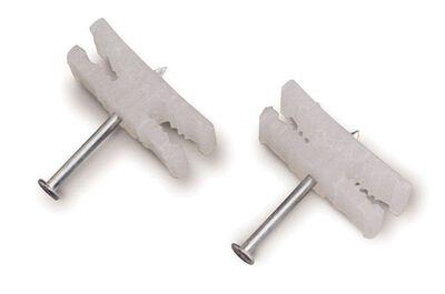 GB 0.19 in. W Zinc-plated Plastic Kwik Mount Wire Staples 25