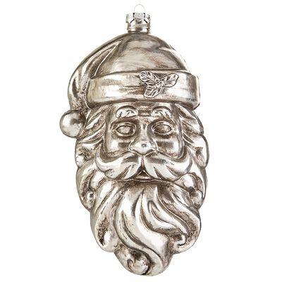 "9"" Santa Face Ornament"
