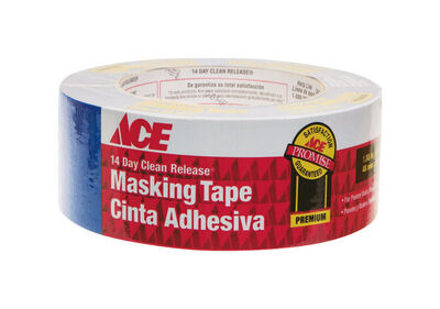 Ace 1.88 in. W x 60 yd. L General Purpose Painter's Tape Regular Strength Blue 1 pk