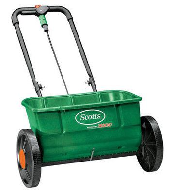Scotts Turf Builder Push Drop Spreader
