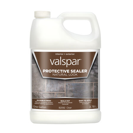 Valspar Clear Silicone Natural Sealer 1 gal.