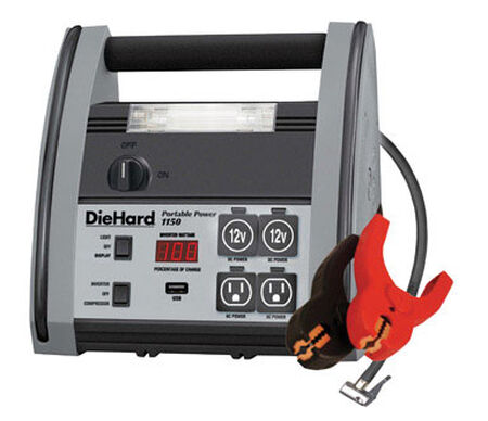 DieHard Automatic Battery Jump Starter 12 volts 1150 amps