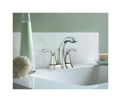 Moen Tiffin Two Handle Lavatory Faucet four Chrome