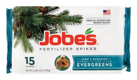 Jobe's Fertilizer Spikes For Evergreens 15 pk