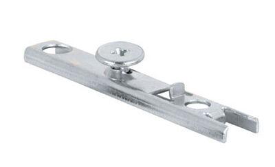 Prime-Line Zinc-Plated Silver 1 pc. Bracket Bi-fold door top pivot 3/16 in. H