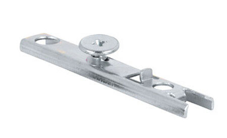 Prime-Line Zinc-Plated Silver 1 pc. Bracket Bi-fold door top pivot 3/16 in. H