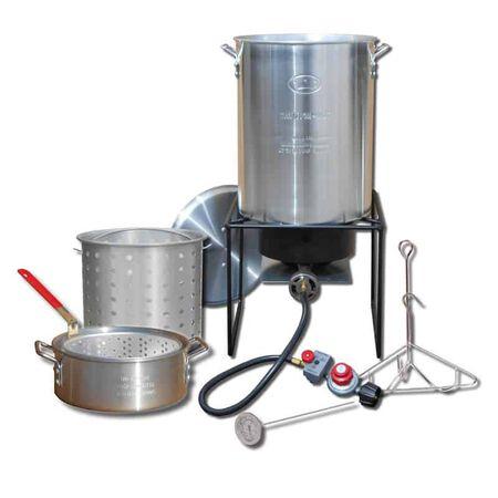 King Kooker 33000 BTU Cold Rolled Steel Turkey Fryer Kit