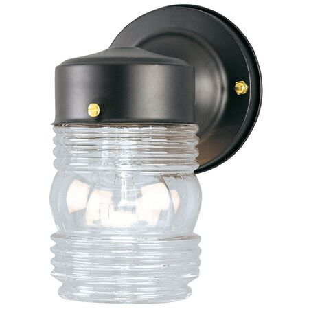 Westinghouse 1 lights Black Outdoor Wall Lantern