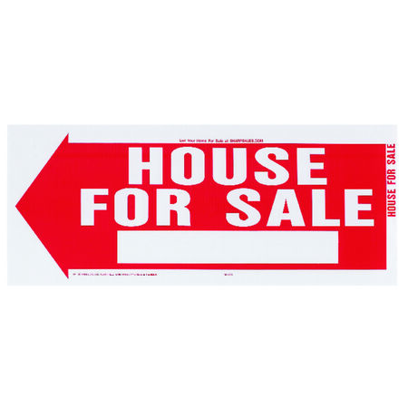Hy-Ko English 10 in. H x 24 in. W Plastic Sign House for Sale