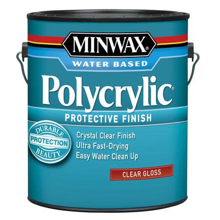 Minwax Gloss Clear Polycrylic 1 gal.