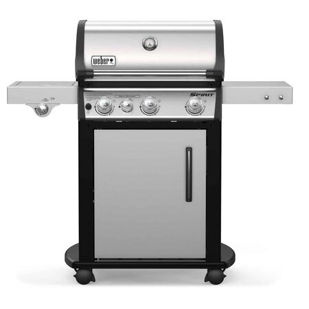 Weber Spirit SP-335 Liquid Propane Freestanding Grill Stainless Steel 3