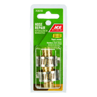 Ace 1/2 in. Brass Hose Repair Male