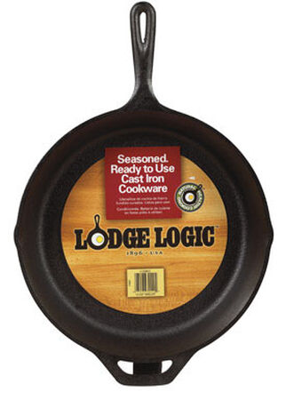Lodge Logic 13-1/4 in. W Cast Iron Skillet