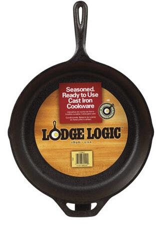 Lodge Logic 13-1/4 in. W Cast Iron Skillet