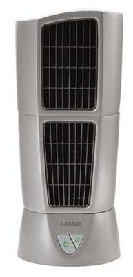 Lasko Tower Fan 14 in. H x 6 in. L x 6 in. W 3 speed Oscillating AC Gray