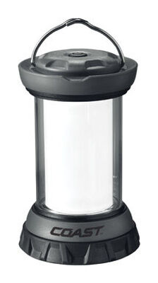 Coast 0 LED Plastic Emergency Lantern AA Black