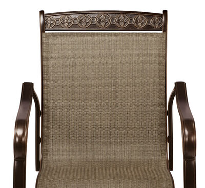 Living Accents Carlisle High Dining Set Brown