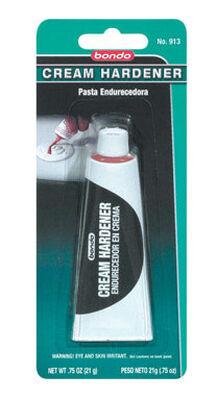 Bondo Liquid Cream Filler Hardener 3/4 oz. For For hardening bondo body fillers
